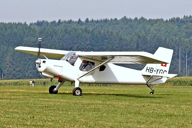 HB-YGC   Ultravia Aero Pelican Club [377] Tannheim~D 23/08/2013