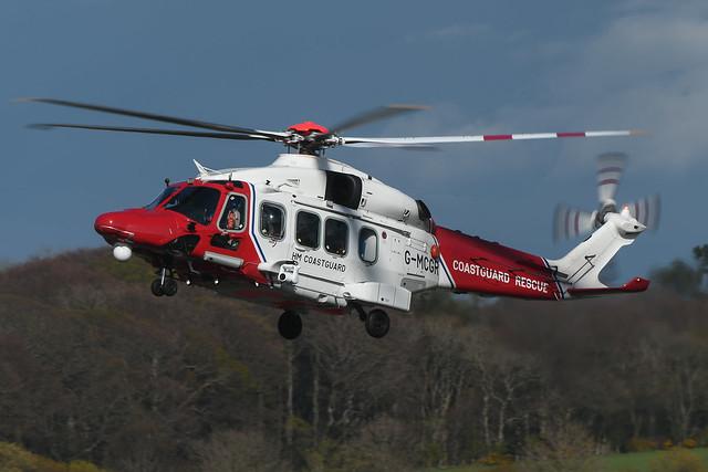 G-MCGR Agusta Westland AW189 EGPK 01-05-21