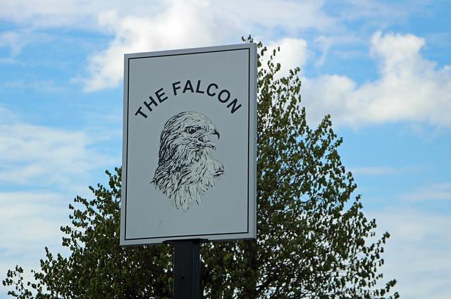 English Pub Sign - The Falcon, Liverpool