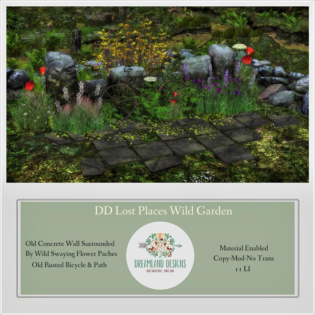DD Lost Places Wild Garden AD