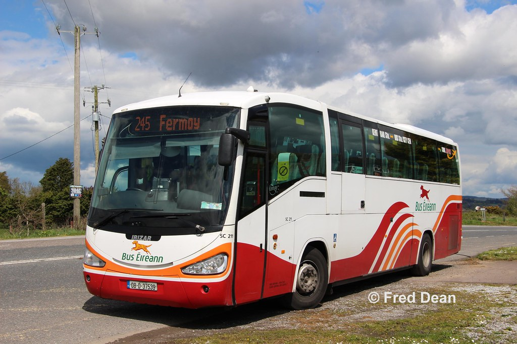 Bus Éireann SC211 (08D37539).