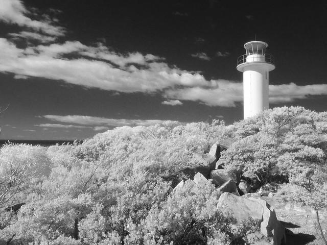 Cape Tourville Lighthouse IR
