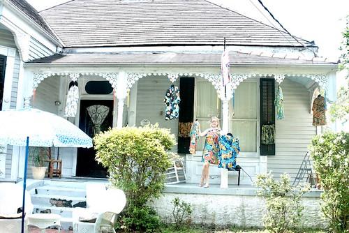 Sherry in Bayou St. John, NOLA