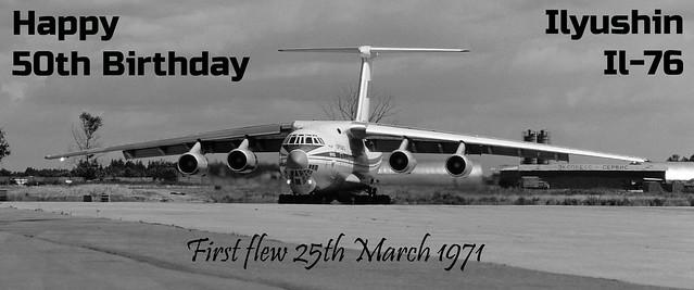 Ilyushin IL-76 50th Birthday