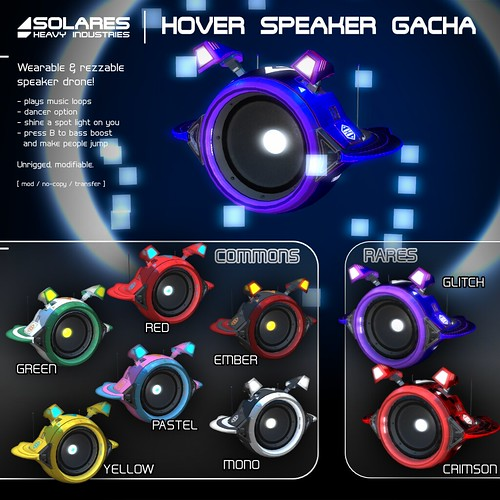 solares >> Hover Speaker @ CYBER/PUNK