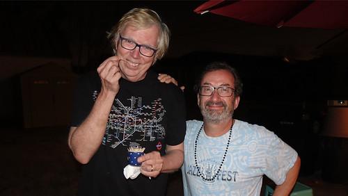 Tom Roche and Ron Phillips. Photo courtesy Tom Roche.