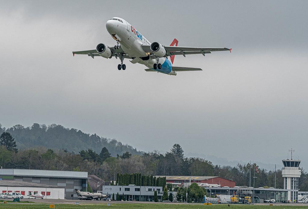 BRN/LSZB: Chair Airlines / Airbus A319-112 / HB-JOG