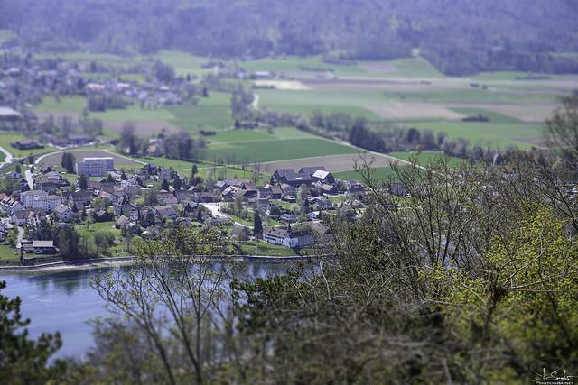View over the Rhine - Stein am Rhein - Schaffhausen - Switzerland