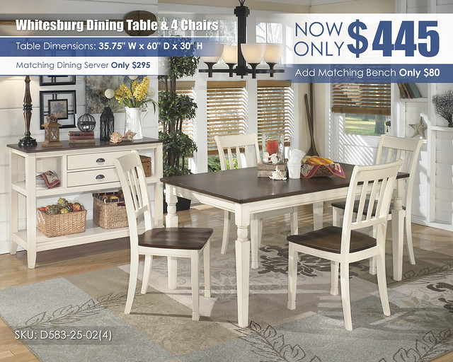Whitesburg Dining Table & 4 Chairs_D583-25-02(4)-59_Update