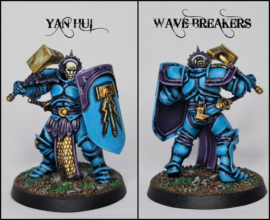 Yan Hui of the Wave Breakers Stormhost (Warhammer: Age of Sigmar, Stormcast Eternals)