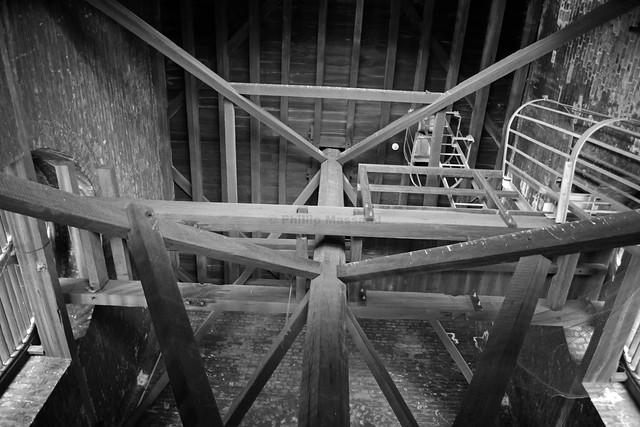 St James steeple framework