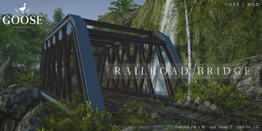 GOOSE - Railroad bridge