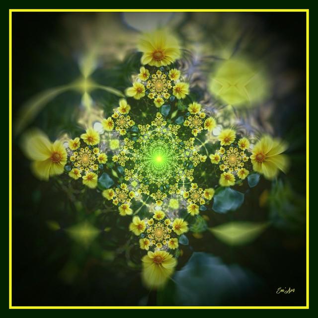 Tourne Solaire II - Solar Flower II