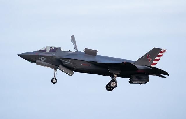 F-35B 169621 CF-01 VMFA-211