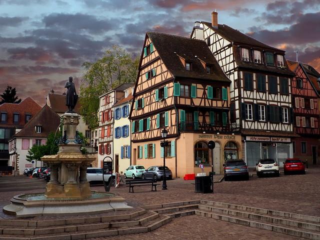 Fontaine Roesselmann (Colmar, F)