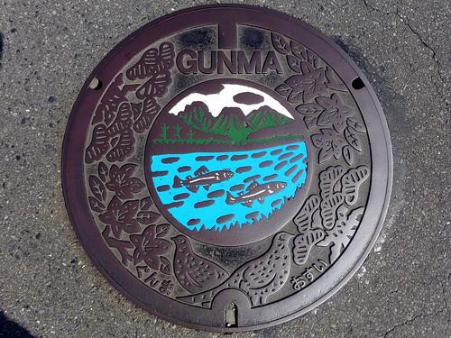 Gunma prefecture, manhole cover 2 (群馬県のマンホール2)