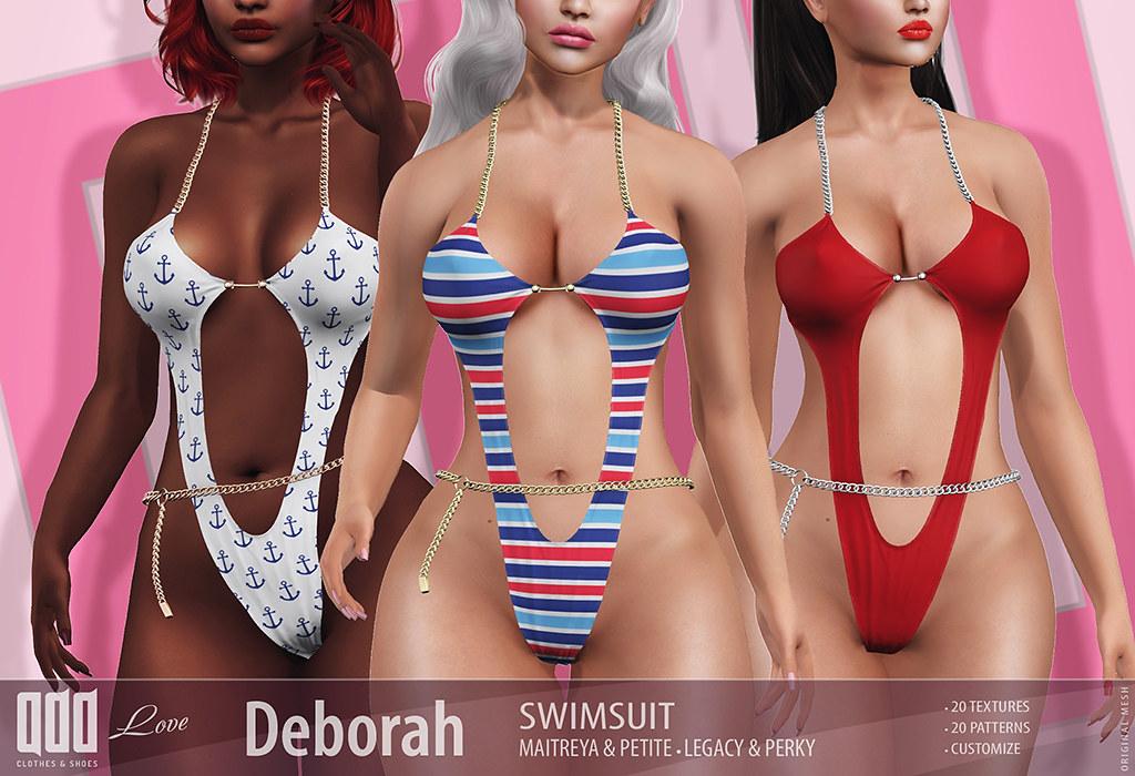 New release - [ADD] Deborah Swimsuit