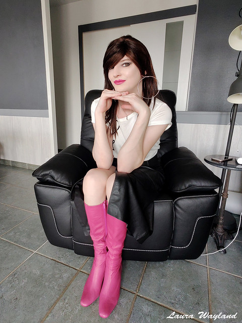 Pink Boots !