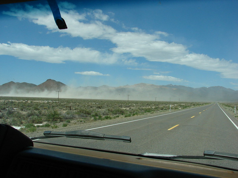 Nevada Dust Storm
