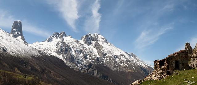 Picos de Europa con el Picu Urriellu