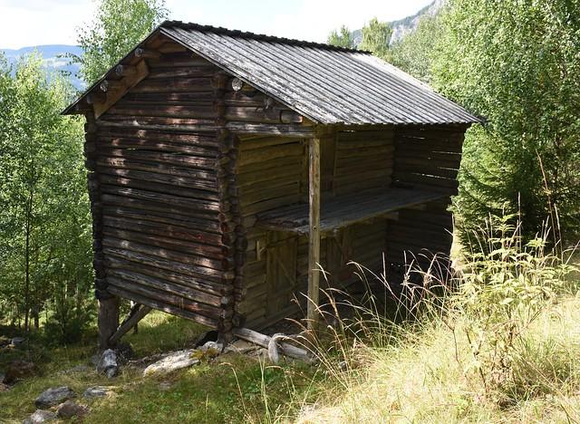 Valdres folkemuseum: Fjøs fra Nygard