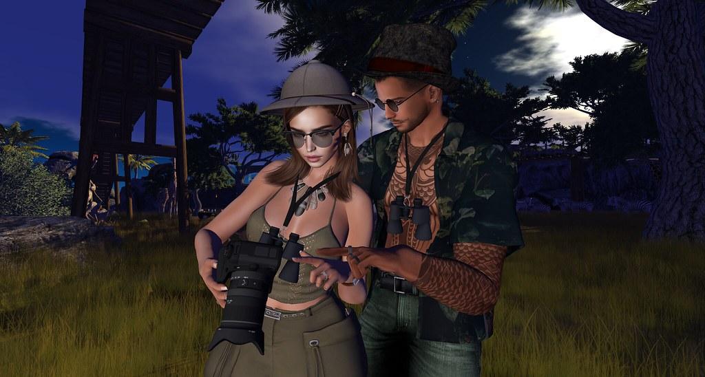 Cian and Pru at Zoopalooza Safari