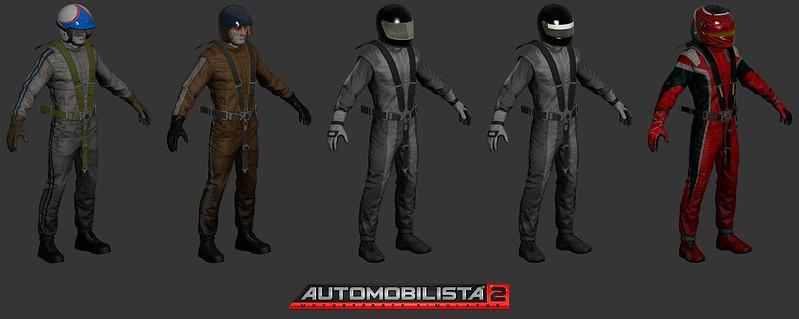 Automobilista 2 Driver Suits