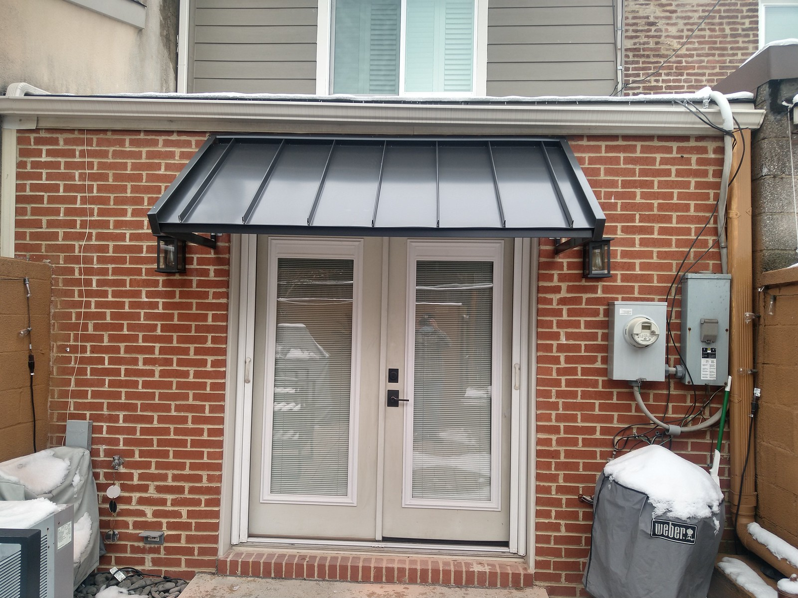Standing Seam Residential Awning