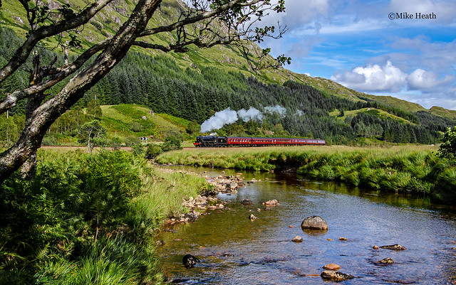 44871 - West Highlands - The Jacobite - 22 August 2014 -