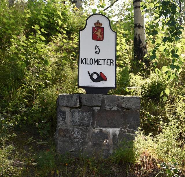 Valdres folkemuseum – halvmilstein