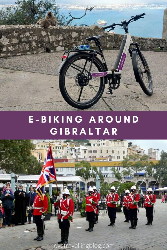 E-biking around Gibraltar