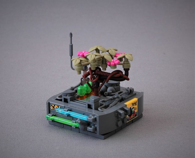 Greeble De Mayo - Cyberpunk blossom