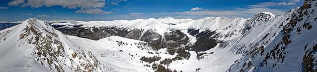 Panorama from East Wall ridge