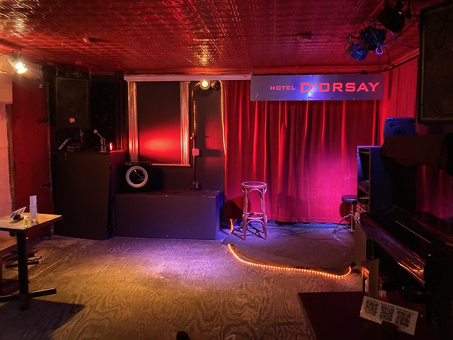 Barbès' Empty Back Room