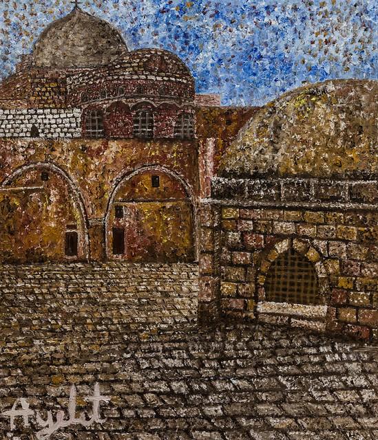 ציורים בנקודות ציור נקודה איילת בוקר היוצרות הישראליות ציירות  העכשוויות האמניות המודרניות