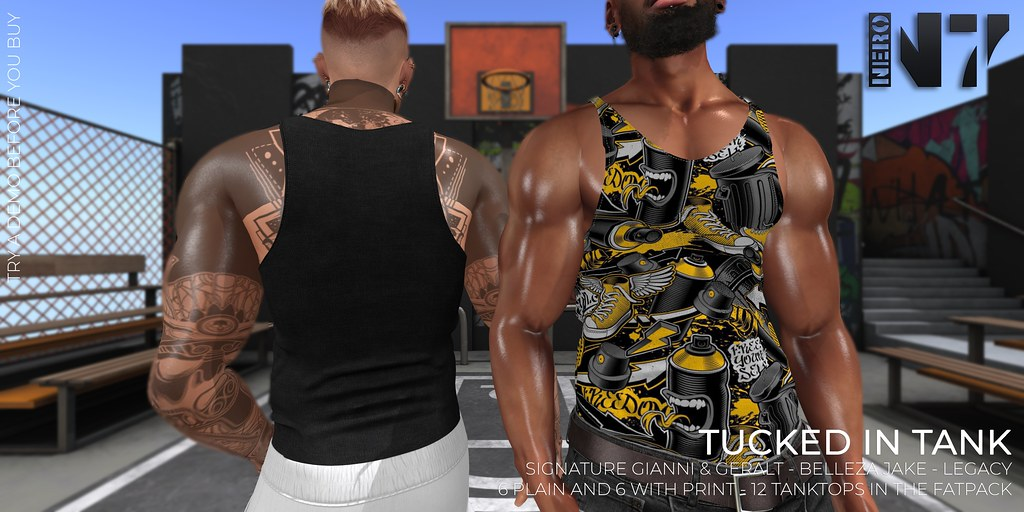 NERO – TUCKED SUMMER TANK – FLICKR