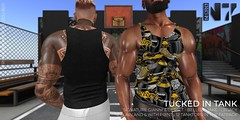 NERO - TUCKED SUMMER TANK - FLICKR