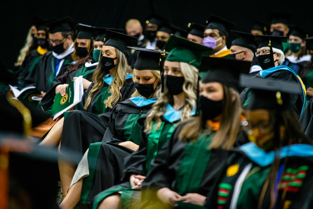 Wright State University 2021 Commencement