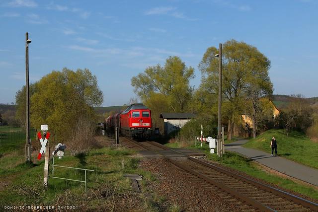 Anrufschranke Ahlendorf, Thüringen