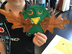 Autumn leaves craft, Tūranga