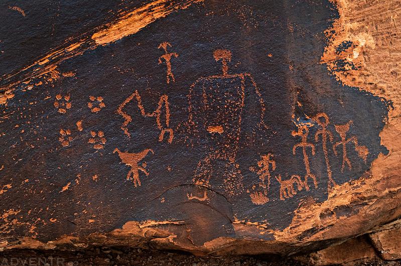 Lower Petroglyphs