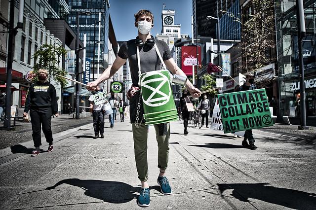 Extinction Rebel Protest Vancouver