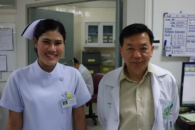 er doctor and nurse