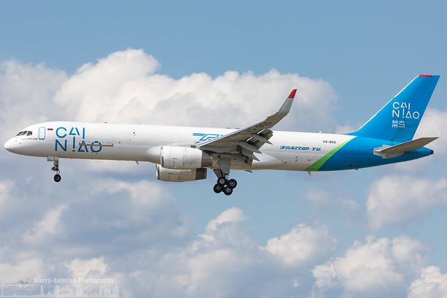 VQ-BGG Aviastar-TU Airlines - Cai Niao Boeing 757-223(PCF)(WL) (FRA - EDDF - Frankfurt)