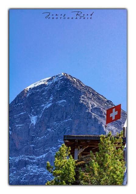 L'Eiger depuis le Grindelwaldblick