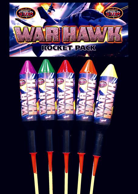 War Hawk Rockets by Bright Star Fireworks