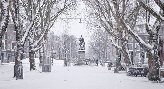 Winter on the Thorbeckeplein