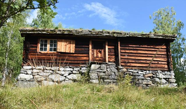 Valdres folkemuseum: Stue fra Øvre Fristadplassen