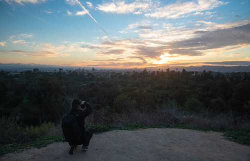 landscape photo photographer sunset california la losangeles elysianpark elysian park skyline city cityscape