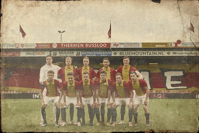retro-Go Ahead Eagles 100Years Ago Coloured